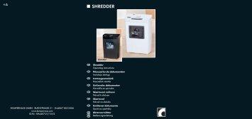 SHREDDER - Kompernass