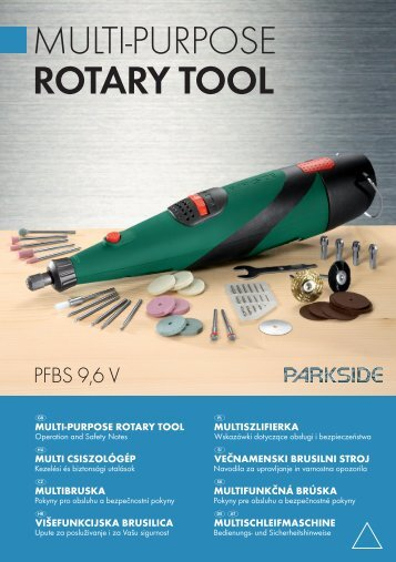 MULTI-PURPOSE ROTARY TOOL - Kompernass