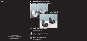 set de radiotransmisión set per trasmissione radio - Kompernass