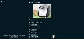 Bread Maker - Kompernass