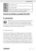estación de soldadura regulable / stagnatore ... - Kompernass - Page 7