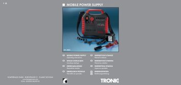 MOBILE POWER SUPPLY - Lidl Service Website