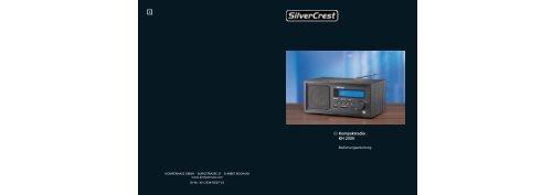 D Kompaktradio KH 2334 c - Kompernass