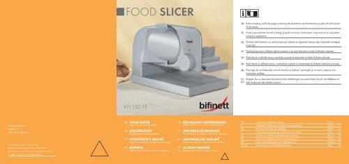 Food Slicer - Kompernass