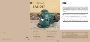 Orbital Sander - Kompernass
