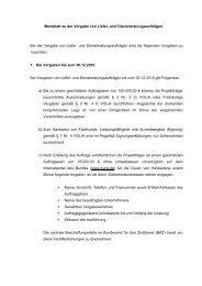 Merkblatt zur Vergabe von Liefer- und ... - ESF-Regiestelle