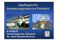 Impfungen bei Immunsupprimierten Patienten - Kompetenznetz HIV ...