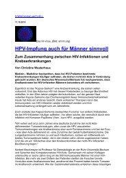 als PDF - Kompetenznetz HIV/AIDS