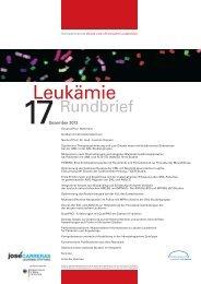 PDF, 5.4 MB - Kompetenznetz Akute und Chronische Leukämie