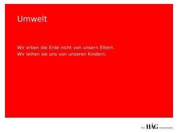 Download: HAG_Umwelt.pdf - Kompetenznetz Mittelstand