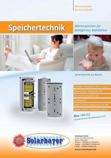Speichertechnik - Cleantech