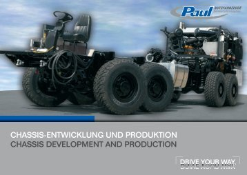 chassis-entwicklung und produktion chassis development and ...