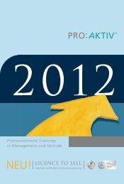 PROAKTIV Trainingsprogramm 2012.pdf - Kompetenznetz Mittelstand