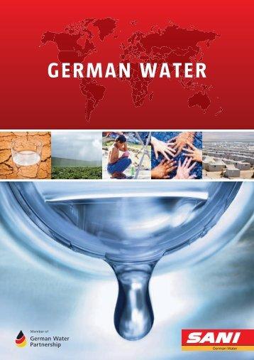 GERMAN WATER - Kompetenznetz Mittelstand
