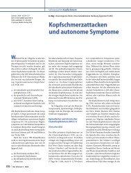 Kopfschmerzattacken und autonome Symptome - Kompetenznetz ...