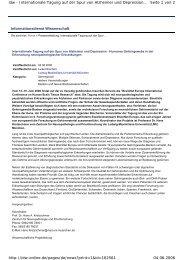 Informationsdienst Wissenschaft Seite 1 von 2 idw - Internationale ...