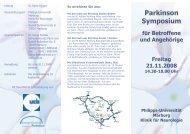 Einladung UCB-Symposium.cdr - Kompetenznetz Parkinson