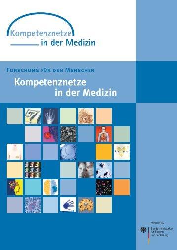 """Broschüre """"Kompetenznetze in der Medizin"""" - BMBF"""