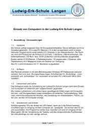 Ludwig-Erk-Schule Langen - Kompetenzzentrum IT