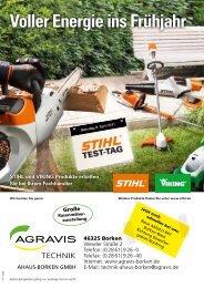 Voller Energie ins Frühjahr - AGRAVIS Technik Ahaus-Borken GmbH