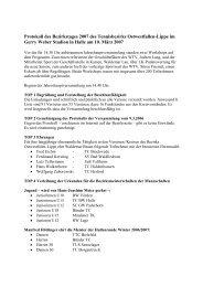 Protokoll des Bezirkstages 2007 des ... - agentur kellermann