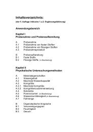 Inhaltsverzeichnis: - Bundesgütegemeinschaft Kompost e.V.