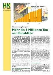 nen Bioabfälle - Bundesgütegemeinschaft Kompost e.V.
