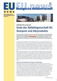 Aktuelle Ausgabe - Bundesgütegemeinschaft Kompost e.V.