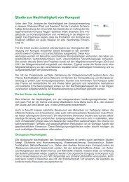 Studie zur Nachhaltigkeit von Kompost - Bundesgütegemeinschaft ...