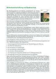 Bodenbewirtschaftung und Bodenschutz - Bundesgütegemeinschaft ...