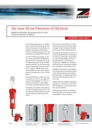 Die neue 50 bar-Filterserie (G/50-Serie)