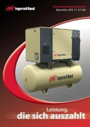 Schraubenkompressoren Baureihe UP5 11-37 kW - Ingersoll Rand