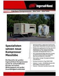 Fahrbare Kompressoren 30m³/min