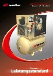 Schraubenkompressoren der Baureihe UP 4 & 5.5 kW