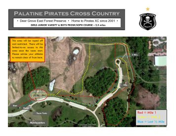 Palatine course map - Kompusport