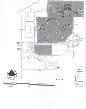 Sundown Meadows course map - Kompusport