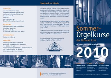 2. Kurs - Diözese Linz