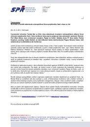 Tisková zpráva 23. dubna 2013 (PDF) - Konference PM