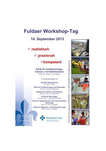 Fuldaer Workshop-Tag 14. September 2013 - kongkret