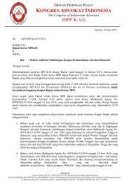 Surat kepada Ketua MPR - RI perihal Mohon Audiensi Sehubungan ...