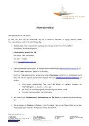 Infoblatt KH_Stand080310 - Kongress am Park - Augsburg