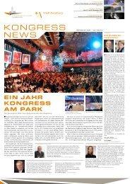 Newsletter Mai 2013 - Kongress am Park - Augsburg