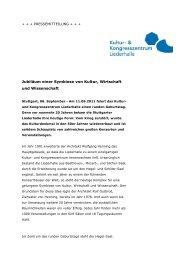 110906_PM Jubiläum_Hegel-Saal-Bereich_neu - Kongresszentrum ...
