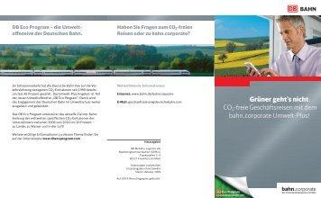 Flyer CO2_apu - Deutsche Bahn AG