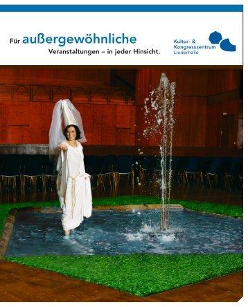 Imagebroschüre Deutsch - Kongresszentrum Stuttgart