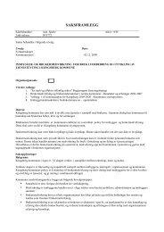 Policy for innbygger - Kongsberg Kommune
