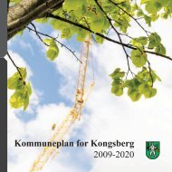 Kommuneplan for Kongsberg 2009-2020 - Kongsberg Kommune