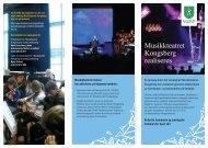 Informasjon om Musikkteateret - Kongsberg Kommune