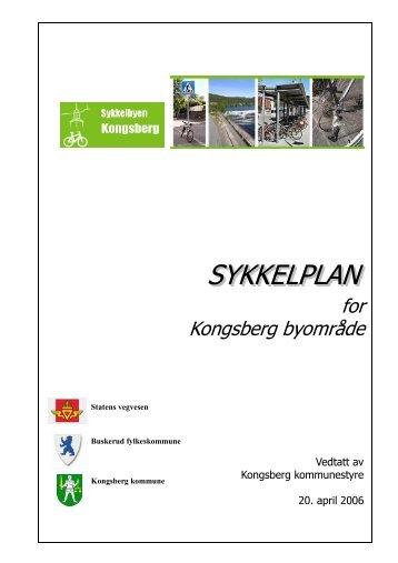 Sykkelplan for Kongsberg - Kongsberg Kommune