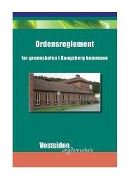 Ordensreglement ungdomsskole - Kongsberg Kommune